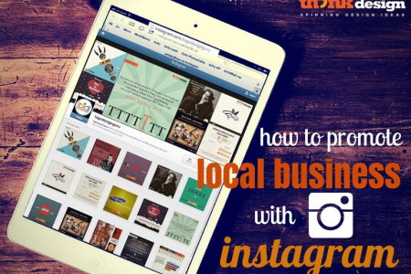 How to Promote Local Business with Instagram Infographic