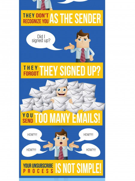 How To Reduce Your SPam Complaints Infographic