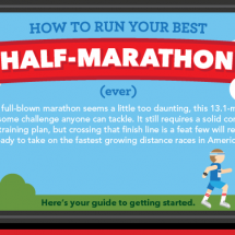 How To Run Your Best Half-Marathon Infographic