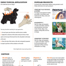 How to Safely and Effectively  Apply Dog Flea Treatments Infographic