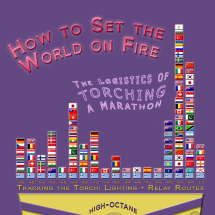 How to Set the World on Fire: The Logistics of Torching a Marathon Infographic
