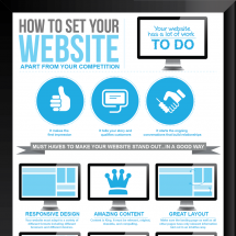 How To Set Your Website Apart From Your Competition Infographic