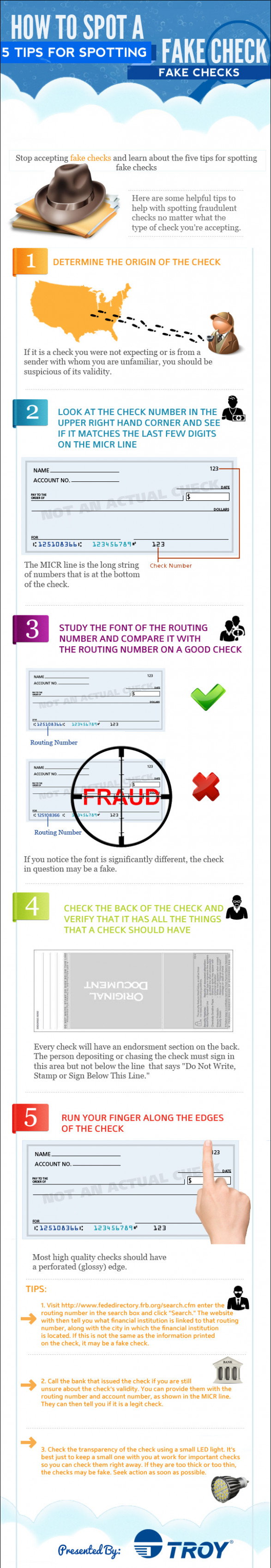 How to Spot a Fake Check