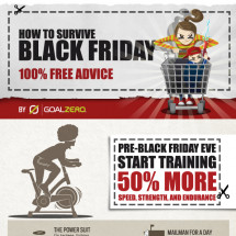 How to Survive Black Friday Infographic