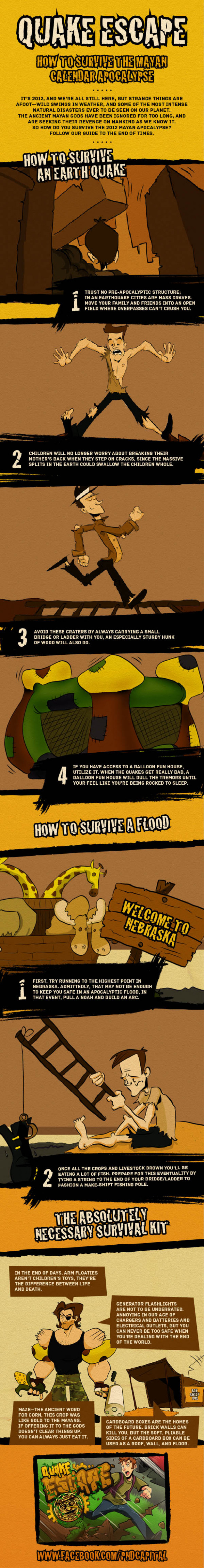 How to Survive The Mayan Calendar Apocalypse