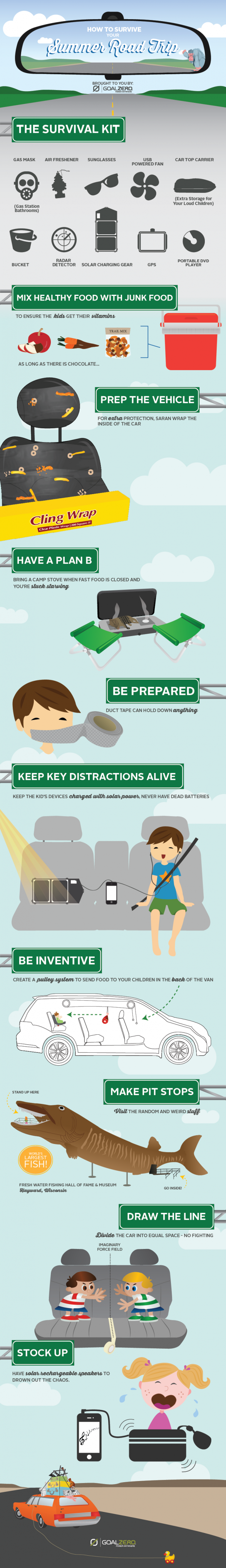 How to Survive Your Summer Road Trip