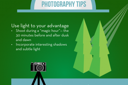 How to Take Pictures Like a Pro! Infographic
