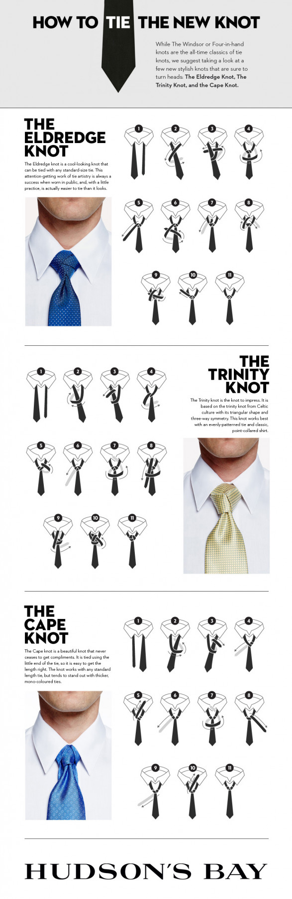 3 Fun New Ways to Tie Your Tie