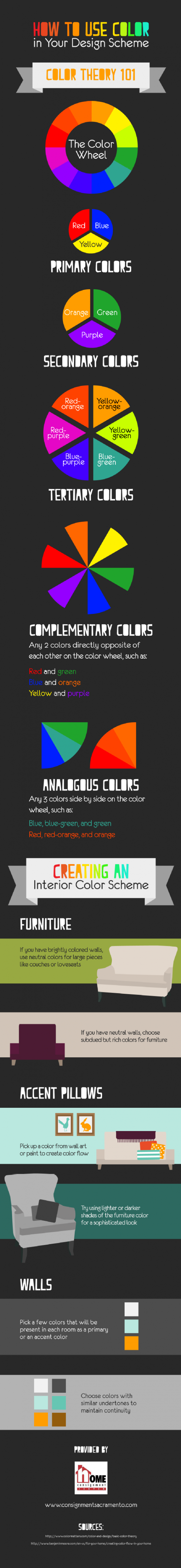 How to Use Color in Your Design Scheme