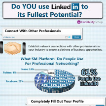 How To use LinkedIn to Its Fullest Potential Infographic