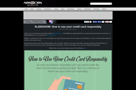 How to use your credit card responsibly Infographic