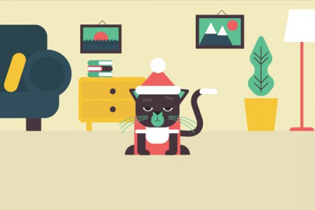 How to wish a Merry Christmas to your clients Infographic
