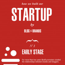 How we built our startup Infographic