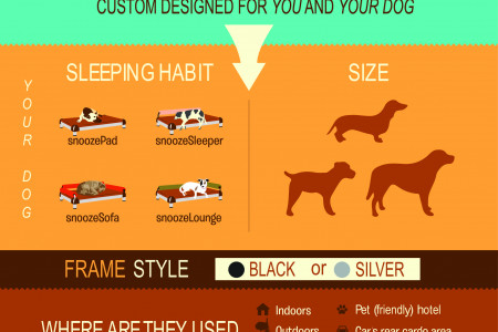 How You Can Design A Healthy And Stylish Bed For Your Dog Infographic