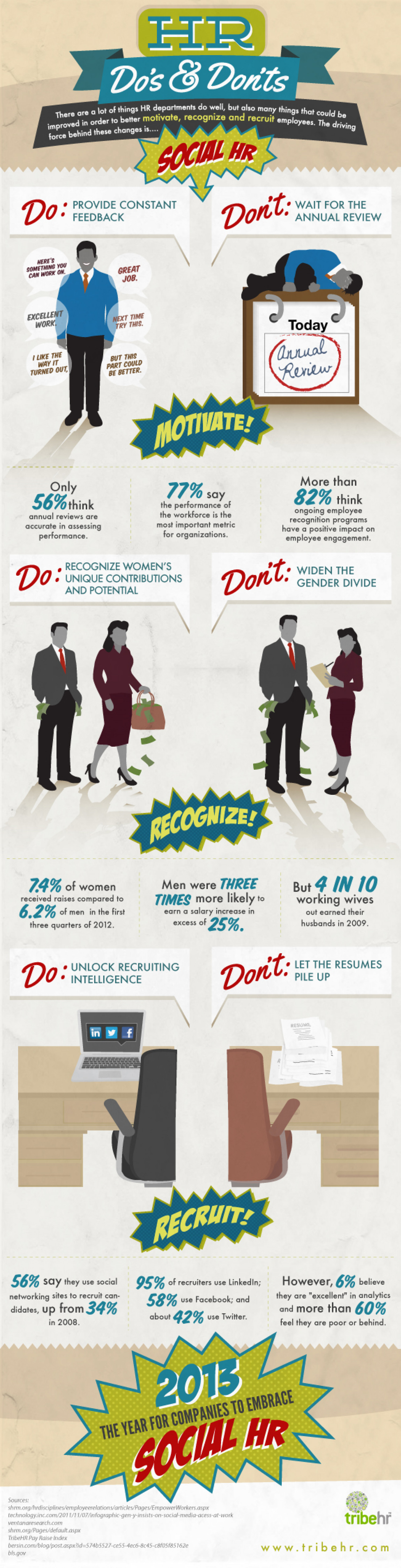 HR Do's & Don'ts Infographic
