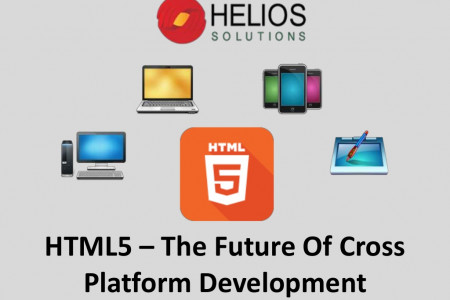 HTML5 – The future of cross platform development Infographic