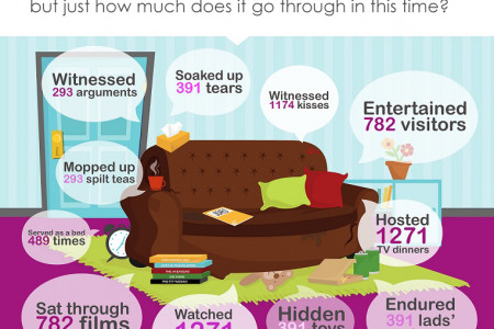 If Your Sofa Could Talk... Infographic