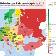 ILGA Europe Rainbow Map Infographic