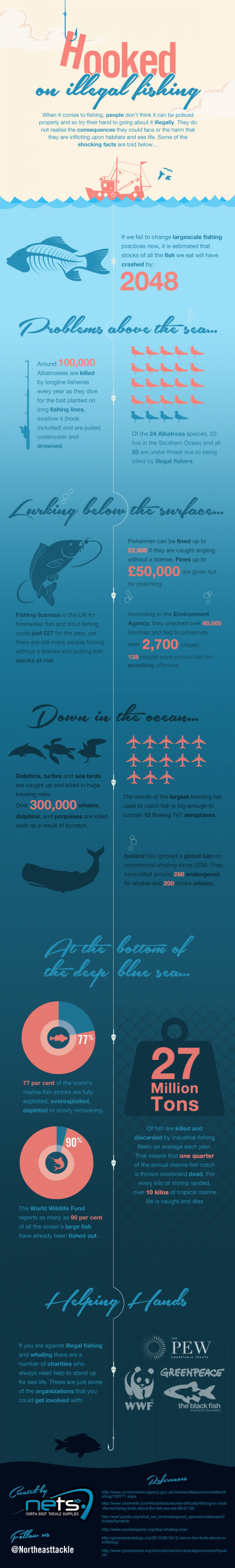 Hooked on Illegal Fishing Infographic
