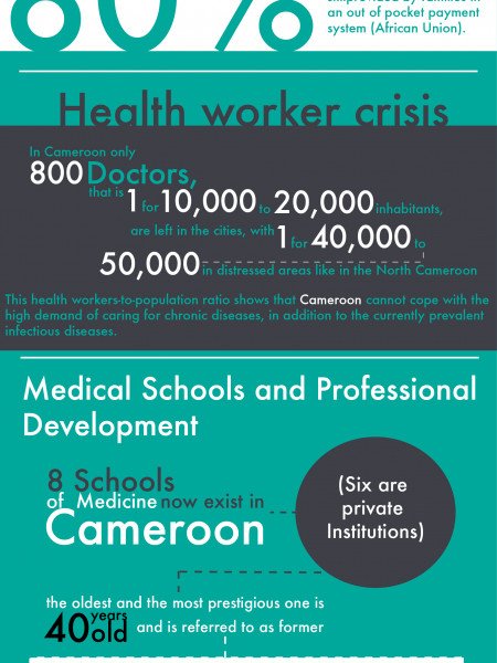 iMed, a health service solution for Cameroon Infographic