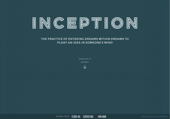 Inception - Explained Infographic