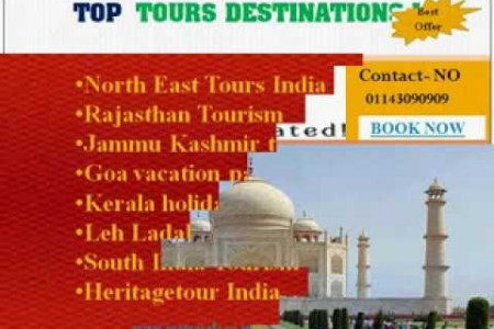 India Travel Destinations  Infographic