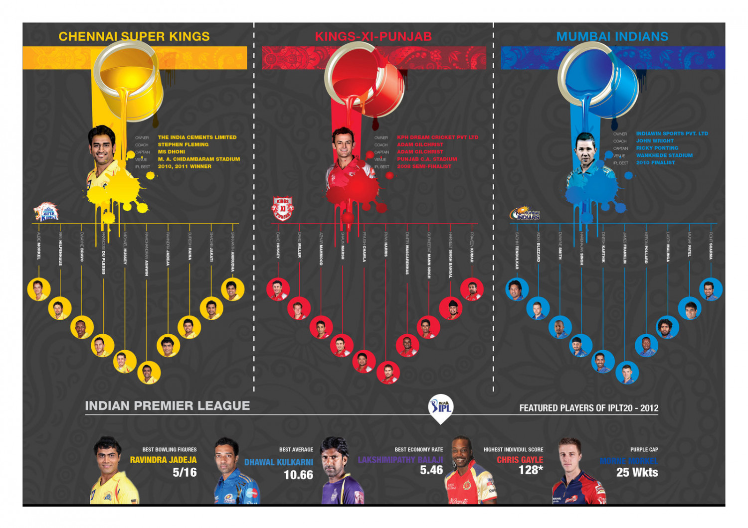 Indian Premier League  Infographic
