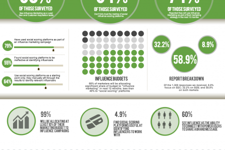 Influence Marketing - State of Influence Report 2013 Infographic