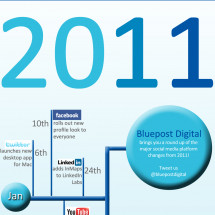 Infographic: How Social Networks Changed in 2011 Infographic