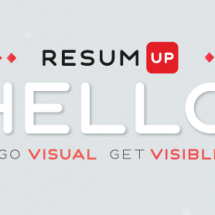 Infographic resume on the rise Infographic
