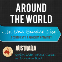 Infographic: The Ultimate Bucket List Infographic