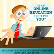 Is An Online Education Right for You? Infographic