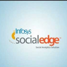 Infosys SocialEdge Social Analytics Solution Infographic