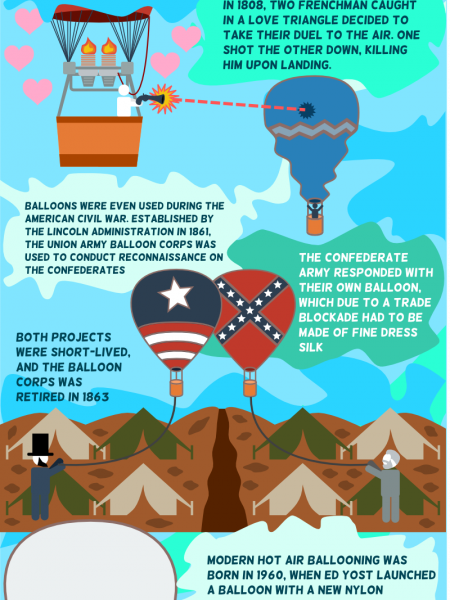 Inside the High-Flying World of Hot Air Balloons Infographic