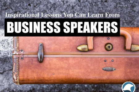 Inspirational Lessons You Can Learn From Business Speakers Infographic