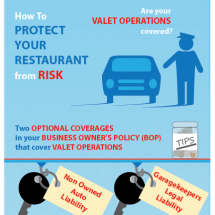 Insurance for Valet Operations Infographic