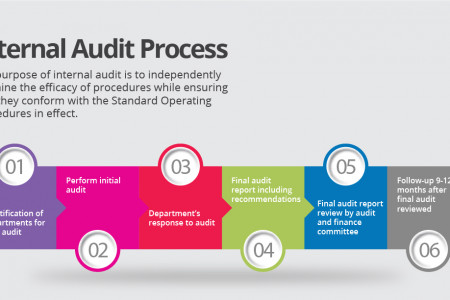 Internal Audit Process Infographic