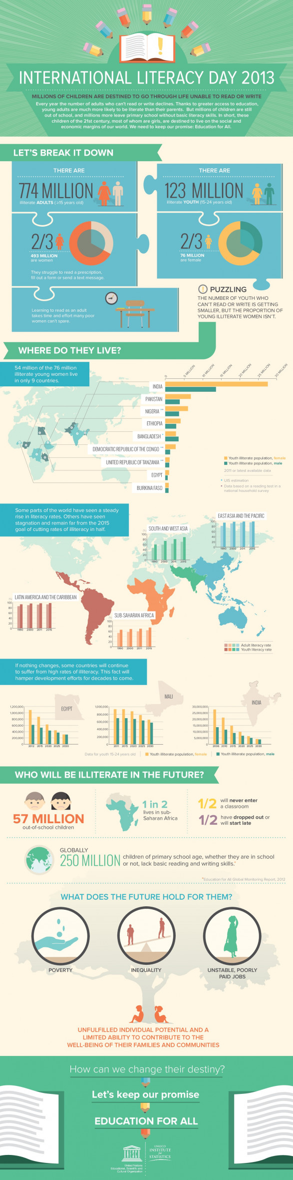 International Literacy Data