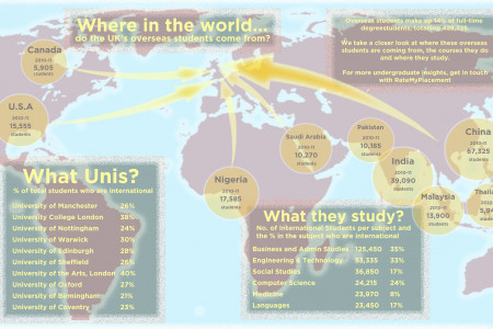 International Students in the UK Infographic