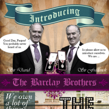 Introducing: The Tax-Dodging Barclay Brothers Infographic