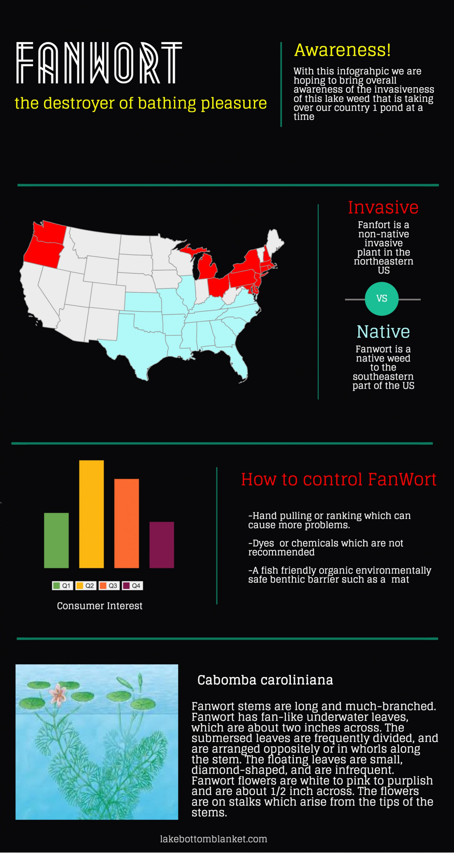 FanWort The Destroyer of Bathing Pleasure Infographic
