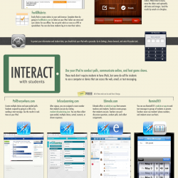 The iPad as the Teacher's Pet | Visual.ly