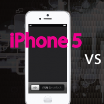iPhone 5 vs Samsung Galaxy S3 Infographic