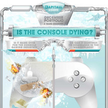 Is the console dying? Infographic