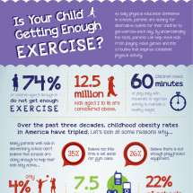Is Your Child Getting Enough Exercise? Infographic