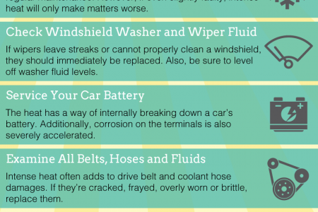 Is Your Vehicle Ready for the Summertime Heat? Infographic