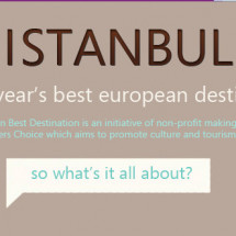 Istanbul - Europe's Best Destination Infographic