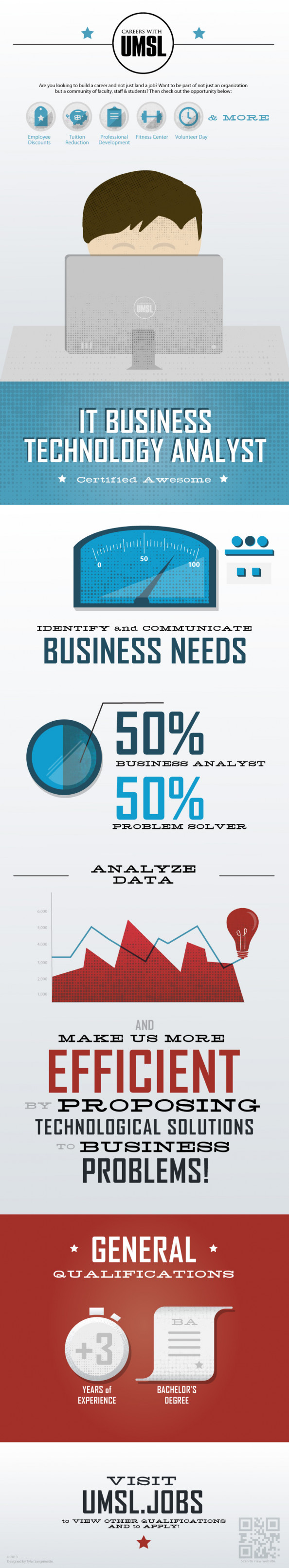 IT Business Technology Analyst Infographic