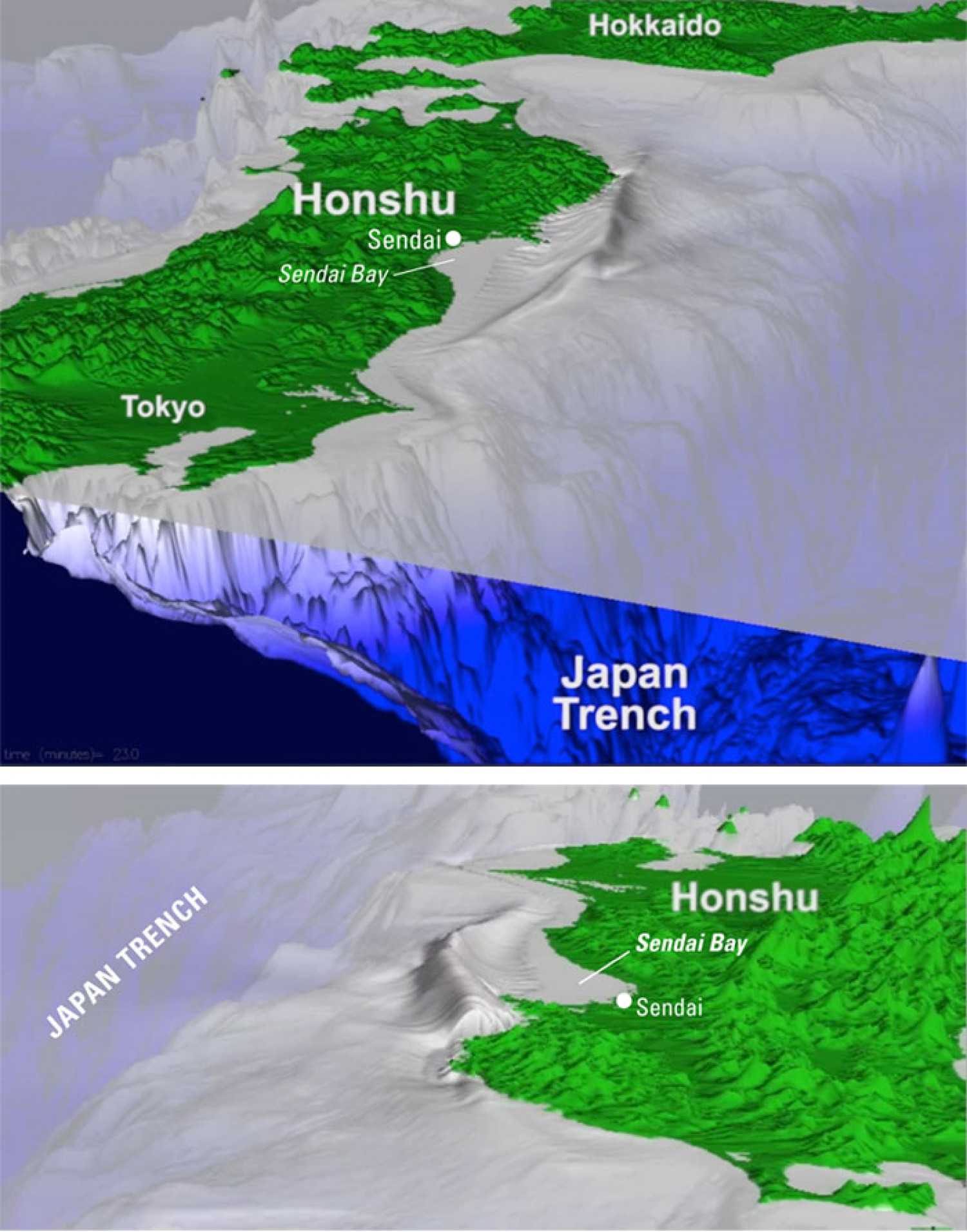 Japan Lashed by Powerful Earthquake, Devastating Tsunami Infographic