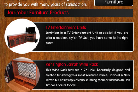 Jarrah Furniture By Jarrimber.com.au Infographic